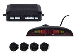 Парктроник универсальный, 4 датчика, LED, Бесплатная доставка по РФ. Под заказ