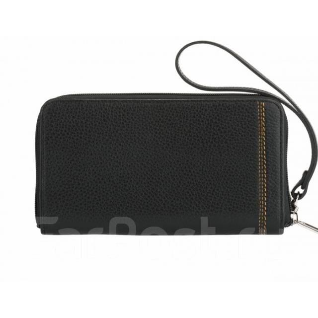 b3b0401ea3d0 Бизнес-клатч мужской черный PM.45. BR. натуральная кожа портмоне ...