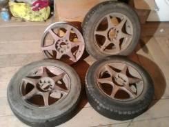 Toyota. 6.5x15, 5x100.00, 5x114.30, ET35
