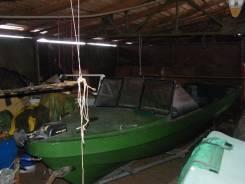 Лодка камчатка. Год: 2014 год, длина 8,00м., двигатель подвесной, 70,00л.с., бензин