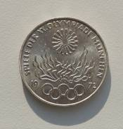 10 марок. ФРГ. Олимпиада в Мюнхене.