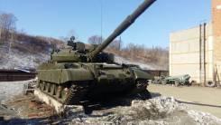 Музейный экспонат танка Т-62