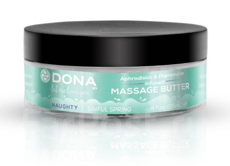 Увлажняющий массажный крем-масло DONA Naughty Sinful Spring - 115 мл.
