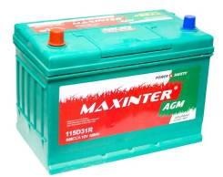 Maxinter. 100 А.ч., правое крепление, производство Китай