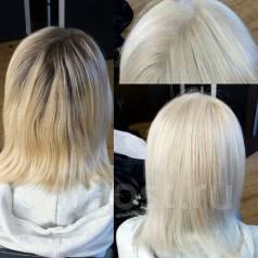 Окрашивание, брондирование, колорирование, мелирование волос в салоне