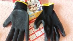 Перчатки прорезиненные хб основа япония
