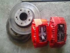 Суппорт тормозной. Nissan Skyline, BCNR33, ECR33 Nissan Laurel Двигатель RB25DET