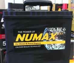 Numax. 45 А.ч., левое крепление, производство Корея