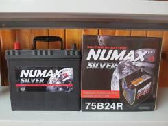 Numax. 58 А.ч., правое крепление, производство Корея