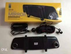 Видеорегистратор-зеркало+камера заднего вида Remax CX-03. Под заказ