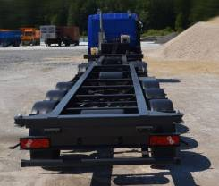 Тонар 97462. -011 п/п (конт-оз, 1х40`, 1х40` HiСube), 37 000 кг.