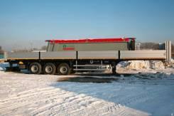 Grunwald. Полуприцеп 9453-0000010-10 (бортовой ССУ1150 мм), 31 200кг.
