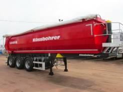 Kassbohrer. Полуприцеп самосвальный DL 22 м3, 32 650 кг.