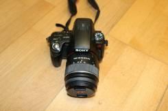 Sony Alpha SLT-A55V Kit. 20 и более Мп, зум: 5х