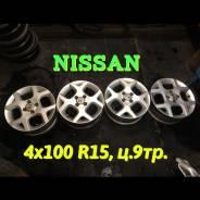 Nissan. 5.5x15, 4x100.00, ET50