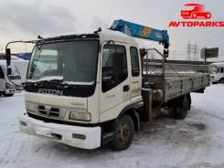 Foton Auman. Бортовой грузовик с КМУ III 135P манипулятор самогруз, 3 990 куб. см., 6 500 кг.