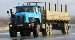 Урал. УРАЛ 44202 седельный тягач, 1 150 куб. см., 12 000 кг.