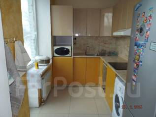 3-комнатная, улица Баумана 3а. агентство, 80 кв.м. Кухня