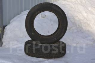 Кама-505. Зимние, шипованные, износ: 5%, 2 шт