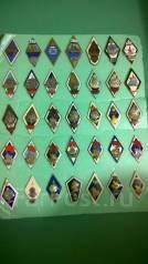 Коллекция ромбов ВМФ 35 разных , много Редких !