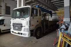 Hyundai HD. Кран манипулятор 250, 11 149 куб. см., 11 000 кг., 21 м.