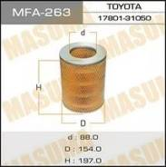 Фильтр воздушный. Toyota: Crown, 4Runner, Hilux, Land Cruiser, Land Cruiser Prado, Stout Двигатели: 3Y, 3L, 4Y, 1YC, 1Y, 18R, L, 4YE, 2YC, 2L, 12R, 22...