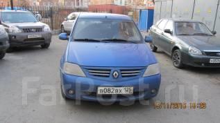 Renault Logan. механика, передний, 1.6 (87 л.с.), бензин, 187 300 тыс. км