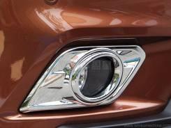 Ободок противотуманной фары. Nissan X-Trail