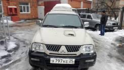 Mitsubishi L200. механика, 4wd, 2.5 (73 л.с.), дизель, 268 690 тыс. км