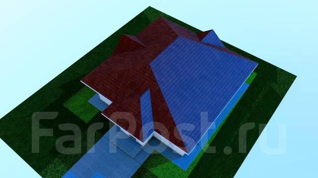 03 Zz Проект одноэтажного дома в Коломне. до 100 кв. м., 1 этаж, 4 комнаты, бетон