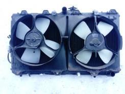 Радиатор охлаждения двигателя. Toyota Corolla, CE100 Toyota Corolla Sprinter Двигатель 2C