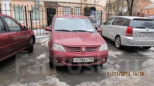 Renault Logan. механика, передний, 1.6 (87 л.с.), бензин, 220 374 тыс. км