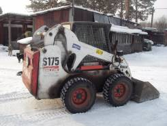 Bobcat S175. с навесным оборудованием, 2 200 куб. см., 900 кг.