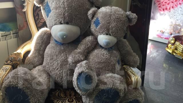 Очаровательный медведь Тедди 90 см ко ДНЮ Влюбленных!