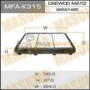 Воздушный фильтр A9209 MASUMA LHD DAEWOO MATIZ V800, V1000 06- (140) MASUMA / MFA-K315