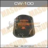 Заплатки MASUMA кордовые, 100x48mm к-т 5 шт 1 слой корда MASUMA / CW-100