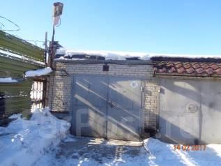 Кирпичный гараж. р-н Железнодорожный, 18 кв.м., электричество, подвал.