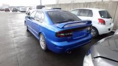 Задняя часть автомобиля. Subaru Legacy, BE5, BEE, BES, BE9