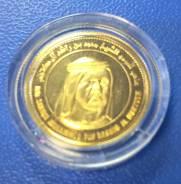 """Золотая монета """" 2007 Dubai DMCC """" 1/10 оz ! Низкая Цена ! Редкость"""