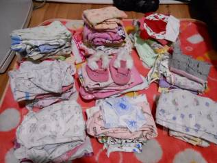 Вещи пакетом на девочку от 0 до 74 см. Рост: 50-60, 60-68, 68-74 см