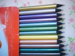 Карандаши цветные.