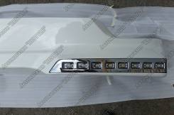 Порог пластиковый. Toyota Land Cruiser, GRJ200, J200, URJ200, URJ202, URJ202W, UZJ200, UZJ200W, VDJ200 Двигатели: 1URFE, 1VDFTV, 3URFE. Под заказ