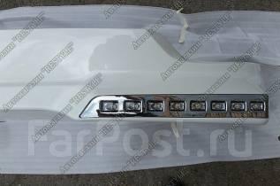 Порог пластиковый. Toyota Land Cruiser, URJ202, VDJ200, URJ202W, J200 Двигатели: 1VDFTV, 1URFE, 3URFE. Под заказ