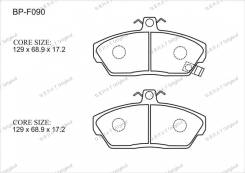 Колодка тормозная. Honda Civic Aerodeck Honda Civic Двигатели: 20T2N23N, 20T2N, 2N23N, 20T2R, 20T2N22N, 20T2R12N, 20T2R13N, D14A2, 20T2N10N, 20T2N11N...