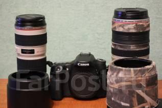 Canon EOS 70D. 20 и более Мп, зум: без зума