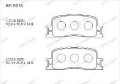 Колодка тормозная дисковая. Toyota: Wish, Highlander, Kluger V, Windom, Camry Lexus ES330, MCV30, MCV31 Lexus ES300, MCV30, MCV31 Двигатели: 1AZFE, 1Z...
