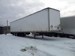 Alloy. Продам полуприцеп фургон 120куб м, 23 000 кг.