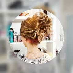 Причёски свадебные, вечерние, локоны.