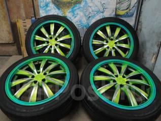 Продам Модные Стильные колёса WEDS Leonis+Лето 215/45R17Toyota, Subaru. 7.0x17 5x100.00 ET47