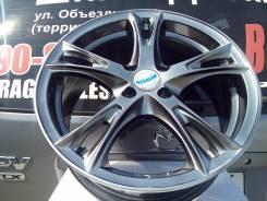 Литые диски R16 4x100 на Kia Rio, Hyundai Solaris. 6.5x16, 4x100.00, ET42, ЦО 67,1мм.